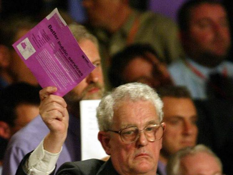 The former MP for West Lothian Tam Dalyell, pictured in 2002.