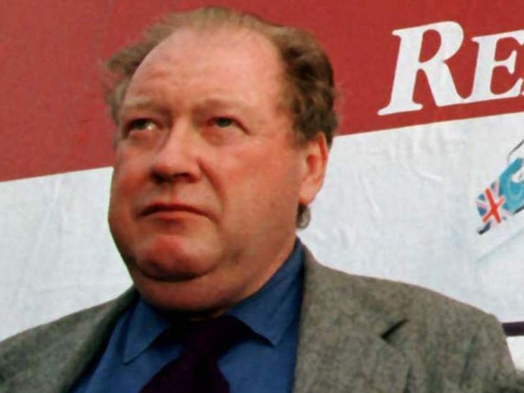 Lord McAlpine, former treasurer of the Conservative Party.