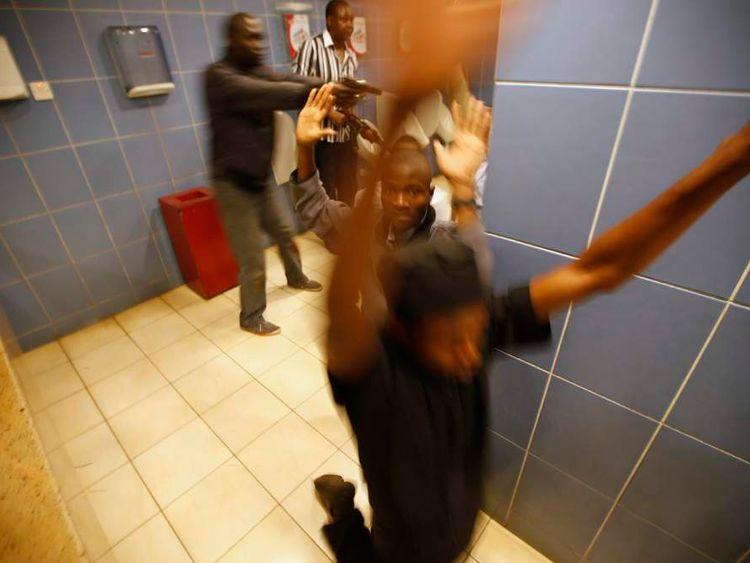 Nairobi shopping centre shooting