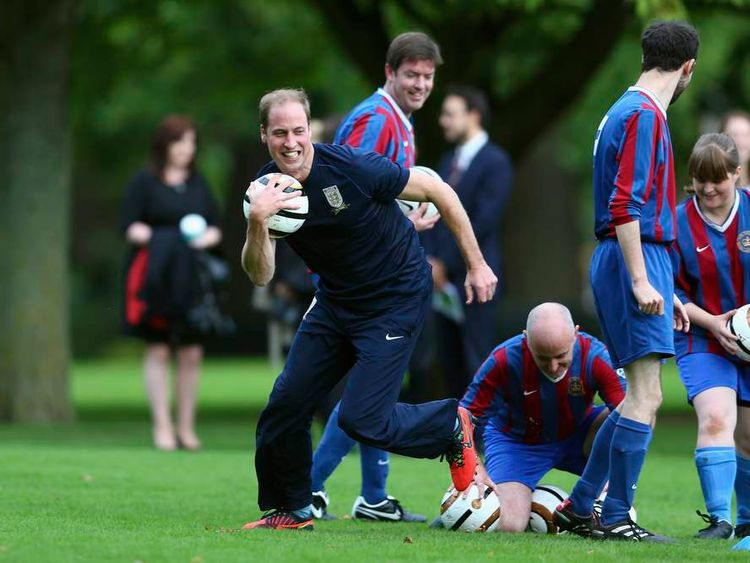 Palace Celebrates FA Anniversary