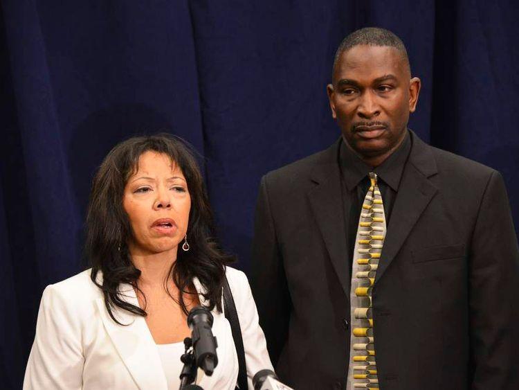 In a post-verdict press conference, Jordan Davis' parents, Lucia McBath and Ronald Davis speak to the media in Jacksonville