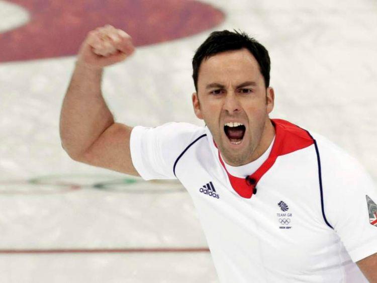 Britain's Men's Curling Team And David Murdoch