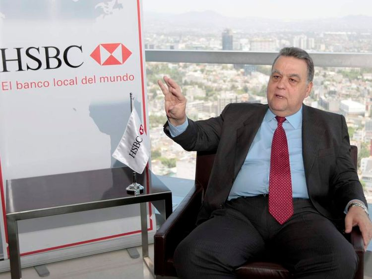 HSBC's Mexico banking arm was criticised by an American Senate report