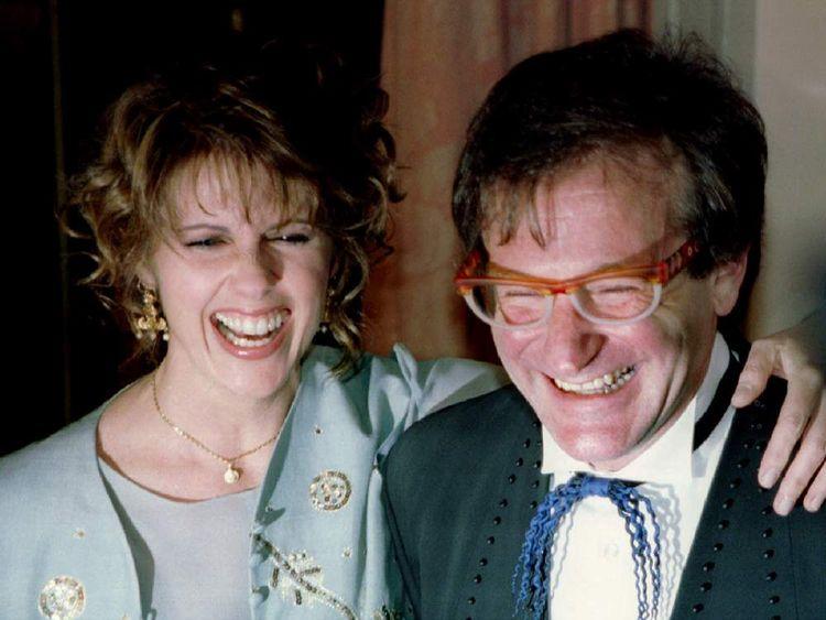 Actress Pam Dawber And Robin Williams