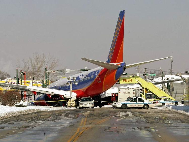 Southwest Airlines plane crash