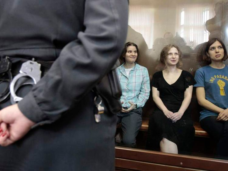 Pussy Riot in court for verdict