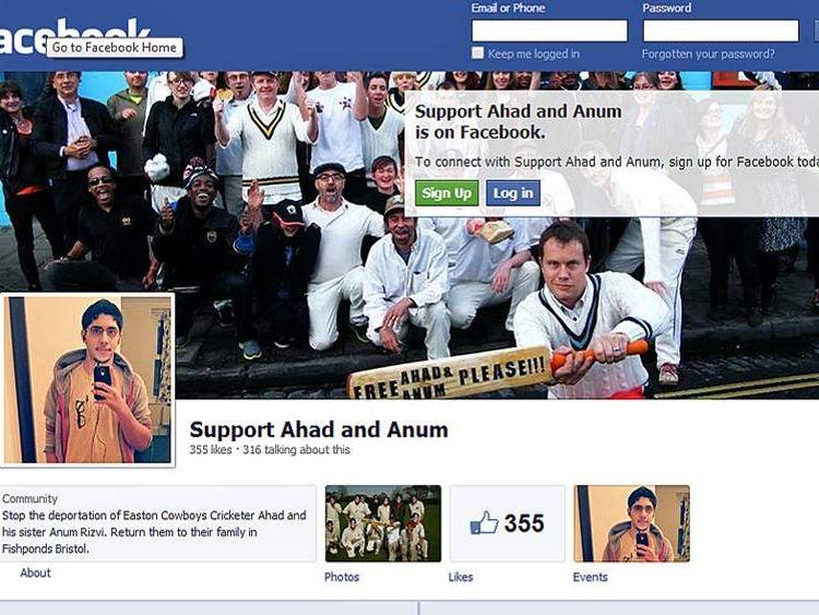 Ahad Rizvi campaign