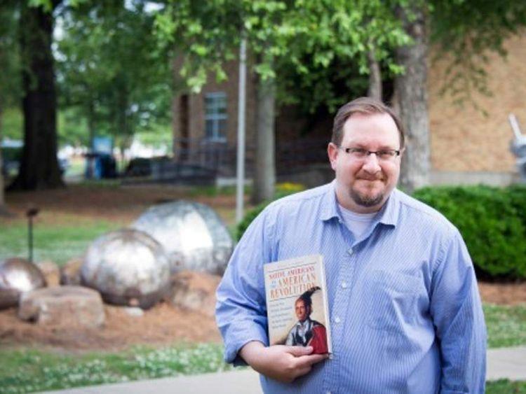 Delta State University history professor Dr Ethan Schmidt