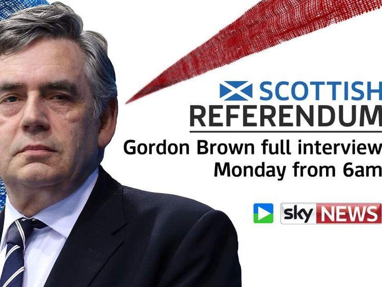 Gordon Brown promo