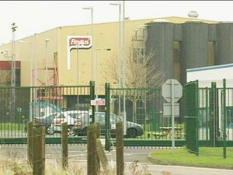 The outside of a Findus factory.