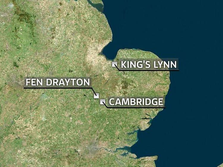 Fen Drayton Map