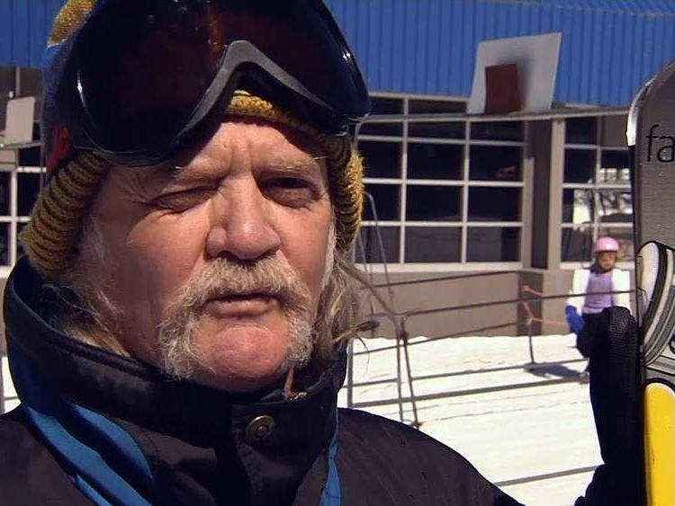 Skier Brian Kairns
