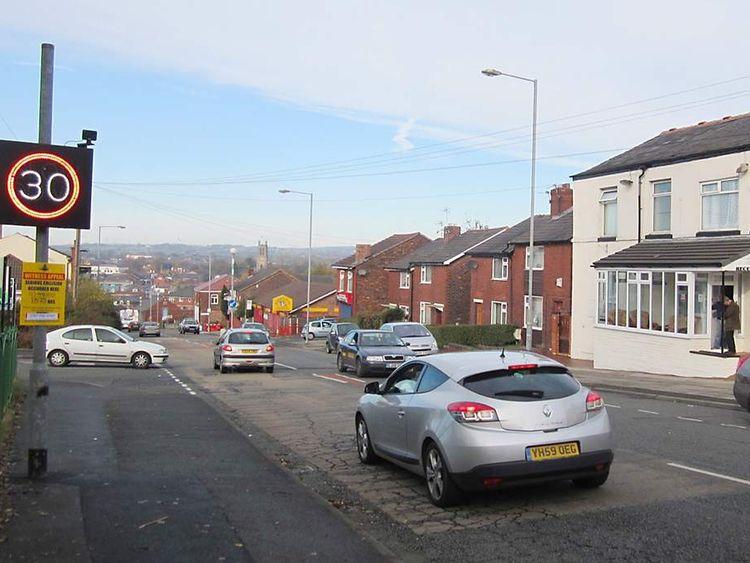 Hit and run scene, Bury