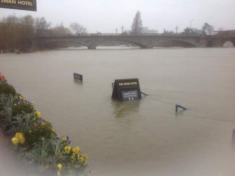 Floods in Staines