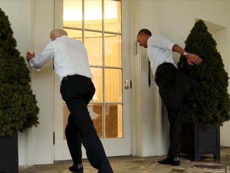 Obama's White House 'Workout'