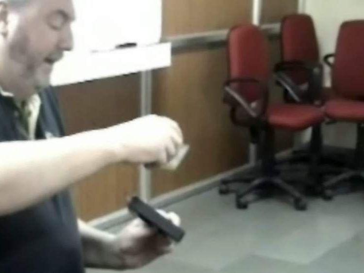 Jim McCormick golf ball locators sold as bomb detectors