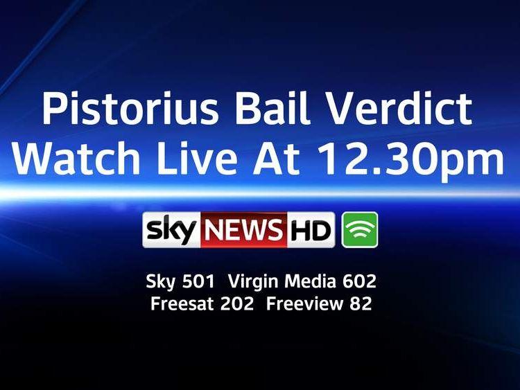 Pistorius bail verdict