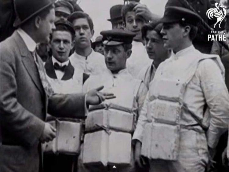 British Pathe puts its entire archive on YouTube- Titanic Survivors