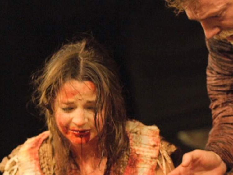 Globe Theatre's revival of 'Titus Andronicus'
