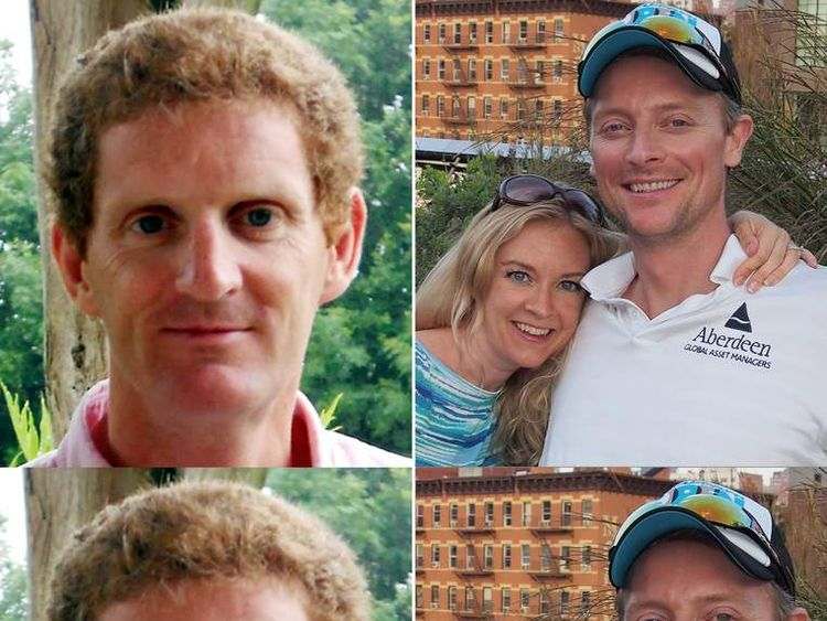 Toby Wallace and Andrew McMenigall who were killed during charity bike ride
