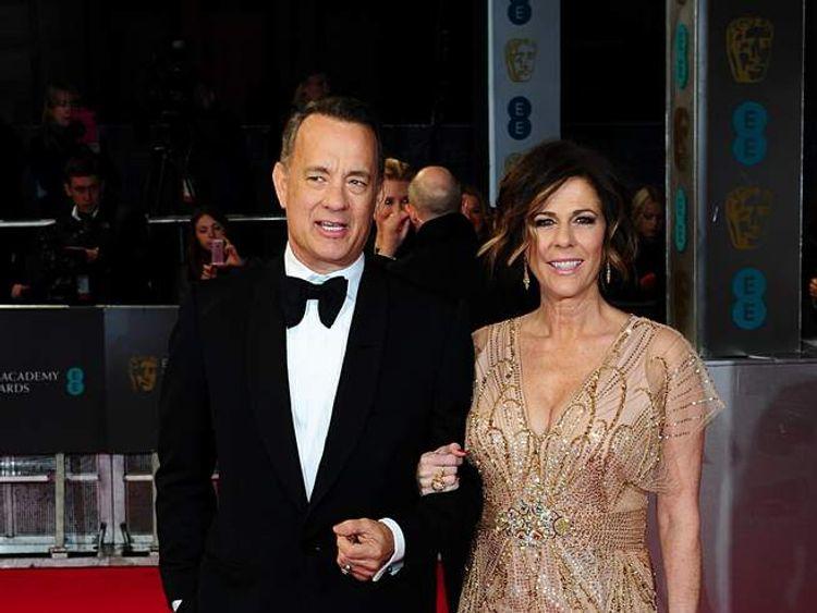 Tom Hanks and wife Rita Wilson