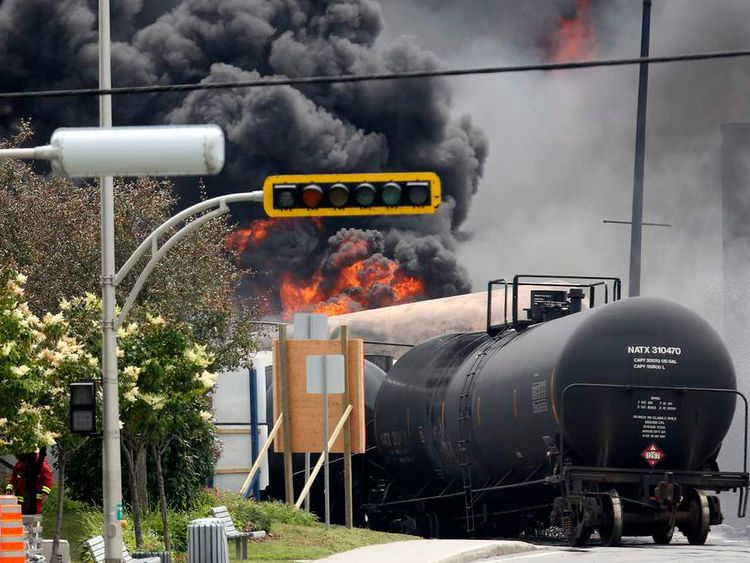 Quebel train derailment