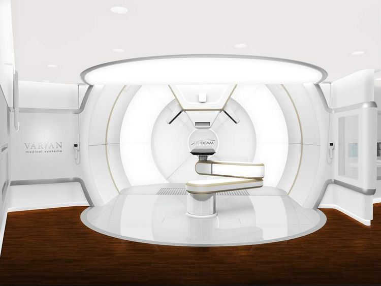 Proton beam therapy: Pic: Varian Medical Systems