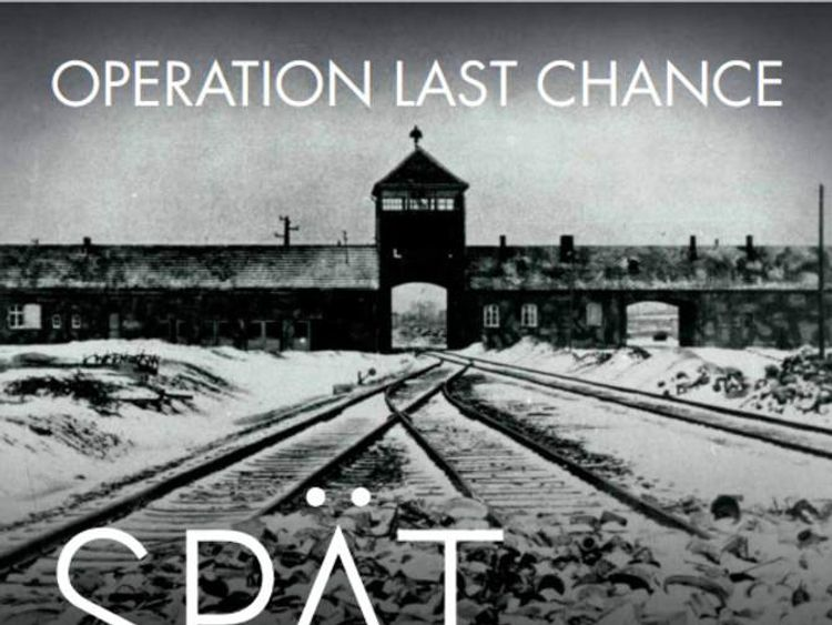 Nazi-Hunter Poster Put Up In Cities