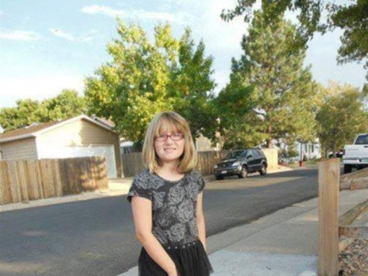 10 year old Jessica Ridgeway who has been missing since friday the 5th of October in Colorado.