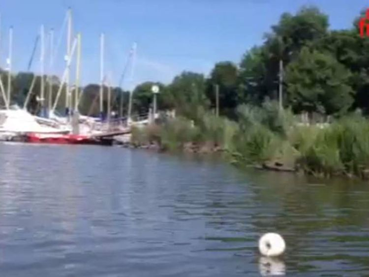 Man dies after riding bike into river Vilaine as part of Facebook craze