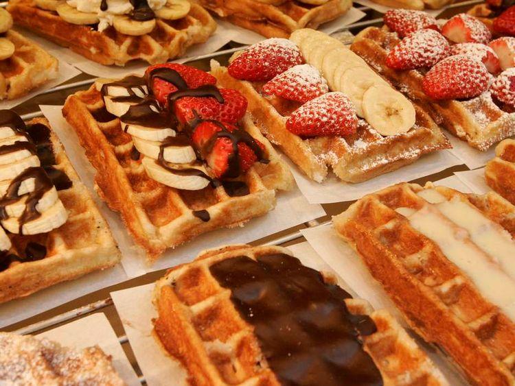 Beglian waffles