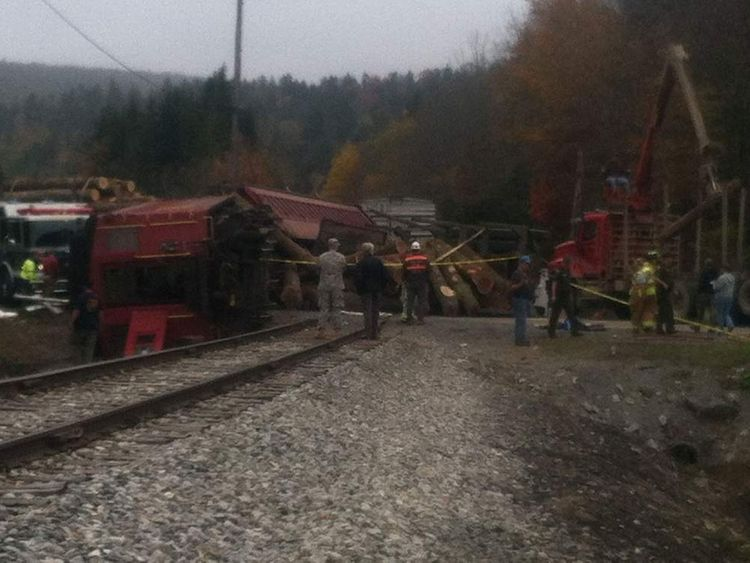 Collision in West Virginia. Pic must be credited to WDTV