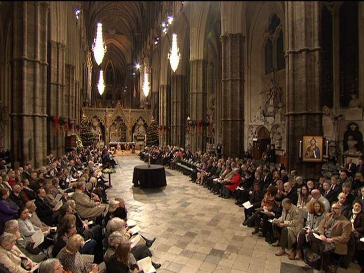 Lockerbie Westminster Abbey service