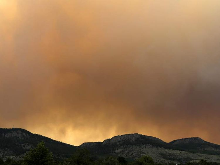 Colorado Wildfire
