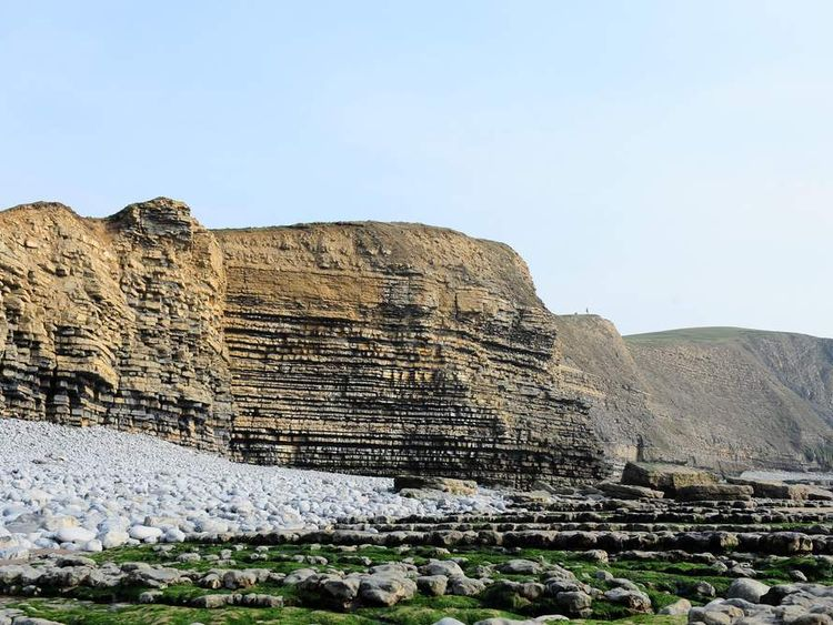 Southerndown cliff