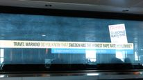 Turkey Airport Ad Warns Against Travel To Sweden Due To 'Rape'