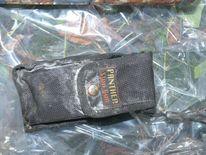 A stun gun casing found at the arms dump in Lurgan