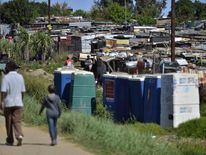 Many Zimbabweans are smuggled into the township of Diepsloot, on the edge of Johannesburg