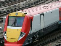The passenger was travelling on the Gatwick Express when he was hit by another train