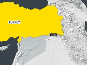 Cizre is close to the Syrian and Iraqi borders