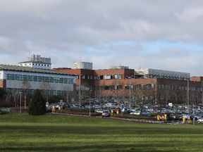County Hospital in Stafford. File picture