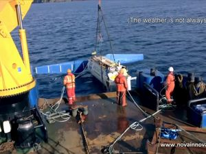 Tidal Turbine System First To Deliver Power To National Grid