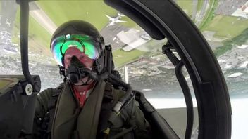 The pilot's face goes red as the plane flies upside down