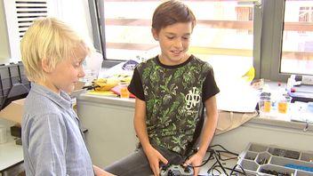 Robots kids tech camp