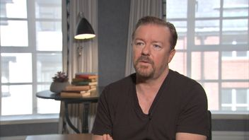 Ricky Gervais talks about Donald Trump and offensive comedy