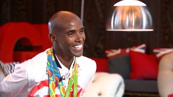 Mo Farah talks about his Olympic success