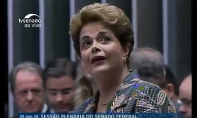 Brazil President Calls Her Impeachment A 'Coup'