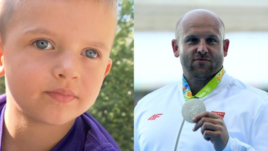 Piotr Malachowski sold his medal to help a boy suffering from retinoblastoma