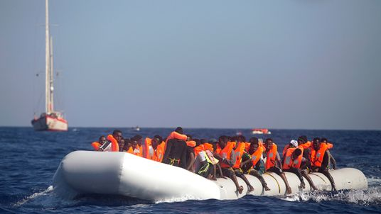 Day, 40 Boats, Thousands Of People Rescued Trying To Get To Europe
