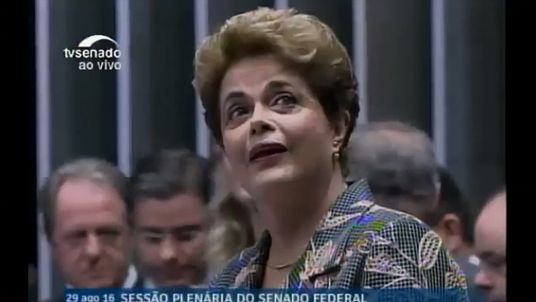Dilma Rousseff is defiant at her impeachment trial in Brazil